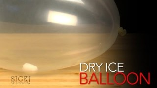 Dry Ice Balloon – Sick Science! #162