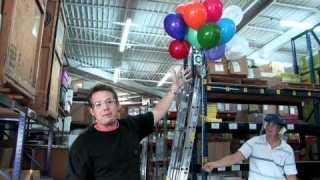 Hydrogen Oxygen Balloon Explosion – Steve Spangler