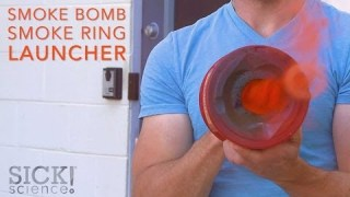 Smoke Bomb Smoke Ring Launcher – Sick Science! #197