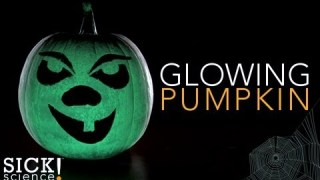 Glowing Pumpkin – Sick Science! #109