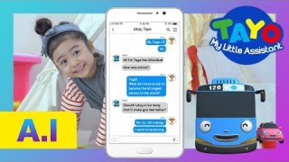 Witty messages from Tayo! l Funniest texts from kids l AI for Kids l Tayo the Little Bus