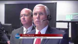 Vice President Visits Marshall Space Flight Center on This Week @NASA – September 29, 2017