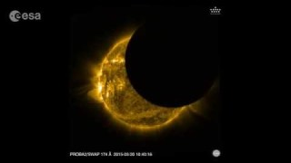 Two solar eclipses for Proba-2