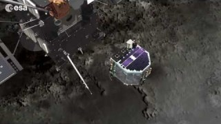 Philae touch down