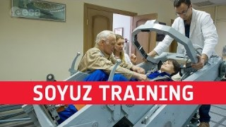 Fit for space – Soyuz training