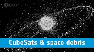 ESA webinars – CubeSats in the context of space debris