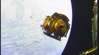 Sentinel-1A separation in space