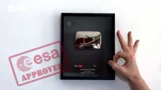 ESA-approved Silver Play Button