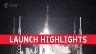 Solar Orbiter launch highlights