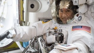 Astronauts Christina Koch, Luca Parmitano and Cosmonaut Alexander Skvortsov Return Home from Space