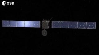 Rosetta puts on the brakes