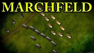 The Battle on the Marchfeld 1278 AD