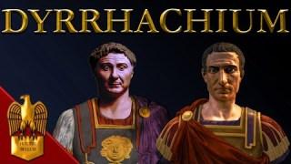 Battle of Dyrrachium, 48 BC ⚔️ Caesar's Civil War