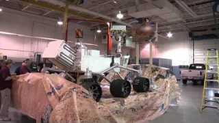 NASA Preps for Inaugural Parade