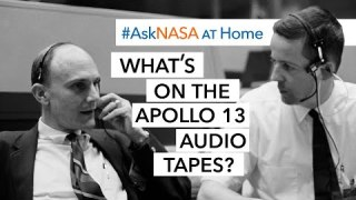 #AskNASA | What's on the Apollo 13 Audio Tapes?