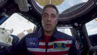 Astronaut Chris Cassidy Thanks Essential Workers from the International Space Station