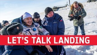 Astronaut coffee break: let's talk landing
