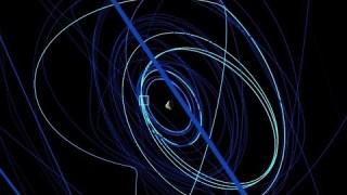 Rosetta's journey around the comet