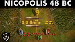 Battle of Nicopolis, 48 BC ⚔️ Pontus challenges Rome