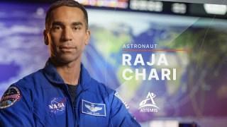 Meet Artemis Team Member Raja Chari