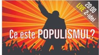 #2i  📘 CE ESTE POPULISMUL? Ep.16 Invitat: Sergiu Mișcoiu