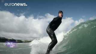 ESA Euronews: Surfing scientists