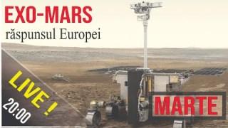LIVE  🚀 ExoMars, roverul European (bonus: noutăți de la Perseverance)