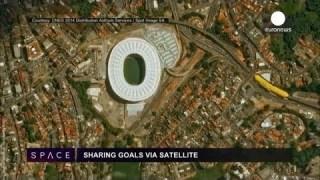 ESA Euronews: Gol via satellite