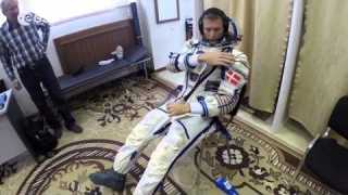 Sokol spacesuit