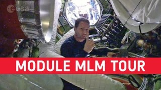 Thomas tours the MLM module (in French with English subtitles available)