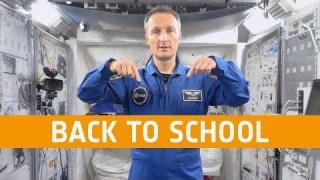 Back to school with ESA astronaut Matthias Maurer