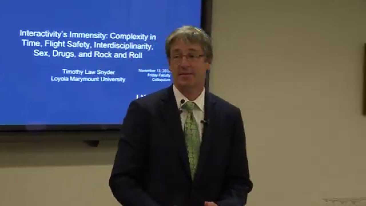 "friday faculty colloquium intera - Friday Faculty Colloquium: ""Interactivity's Immensity ..."""