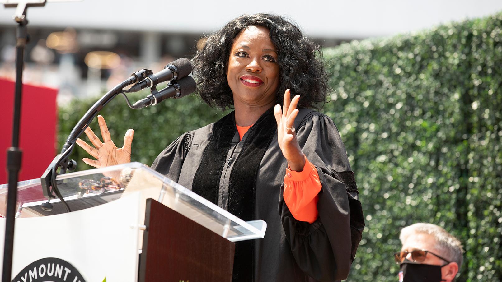 Viola Davis Addresses the Graduating Classes of 2020 and 2021