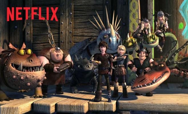 DreamWorks Dragons: Race to the Edge Teaser – Netflix