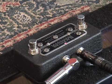 Gear: Blackstone Appliances MOSFET OVEDRIVE guitar effects pedal demo w Strat & Dr Z amp