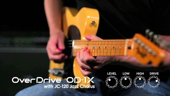 Gear: BOSS OD-1X Over Drive MDP