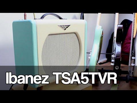 Gear: Ibanez TSA5TVR Tube Screamer amplifier