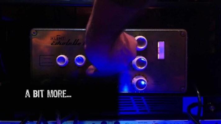 Gear: Klemt Echolette M40 Vintage Amp overdrive tone