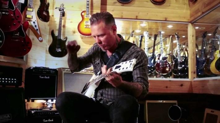 Gear: Metallica's James Hetfield At Guitar Center