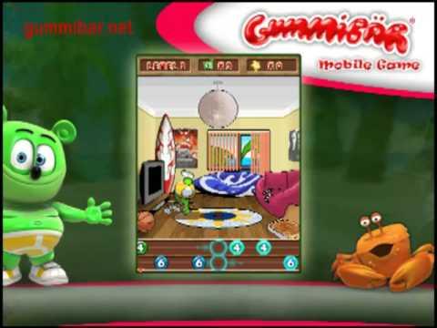 Gummibär's Cell Phone Game Gummy Bear Song