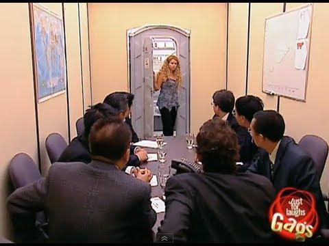 JFL Hidden Camera Pranks & Gags: Toilet Boardroom Surprise