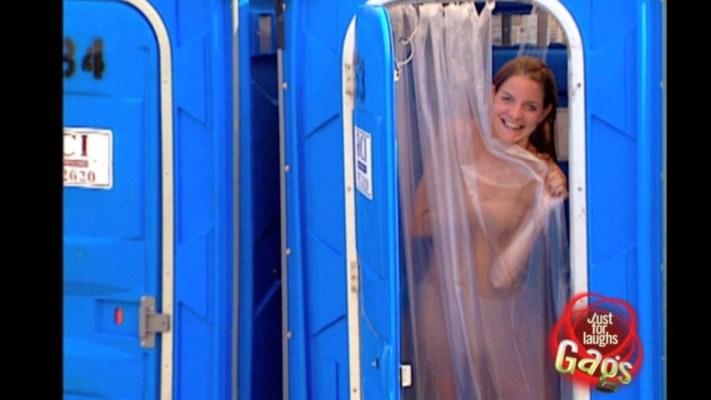 Public Shower Prank