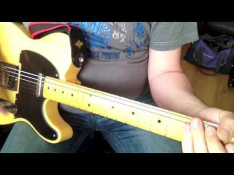 Gear: Octabass Tele (first attempts) – bass strings on a guitar