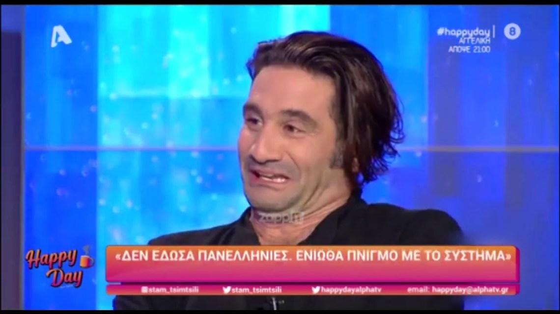 """Οδυσσέας Παπασπηλιόπουλος: «Δεν έδωσα πανελλήνιες, ένιωθα """"πνιγμό"""" με το σύστημα»"""