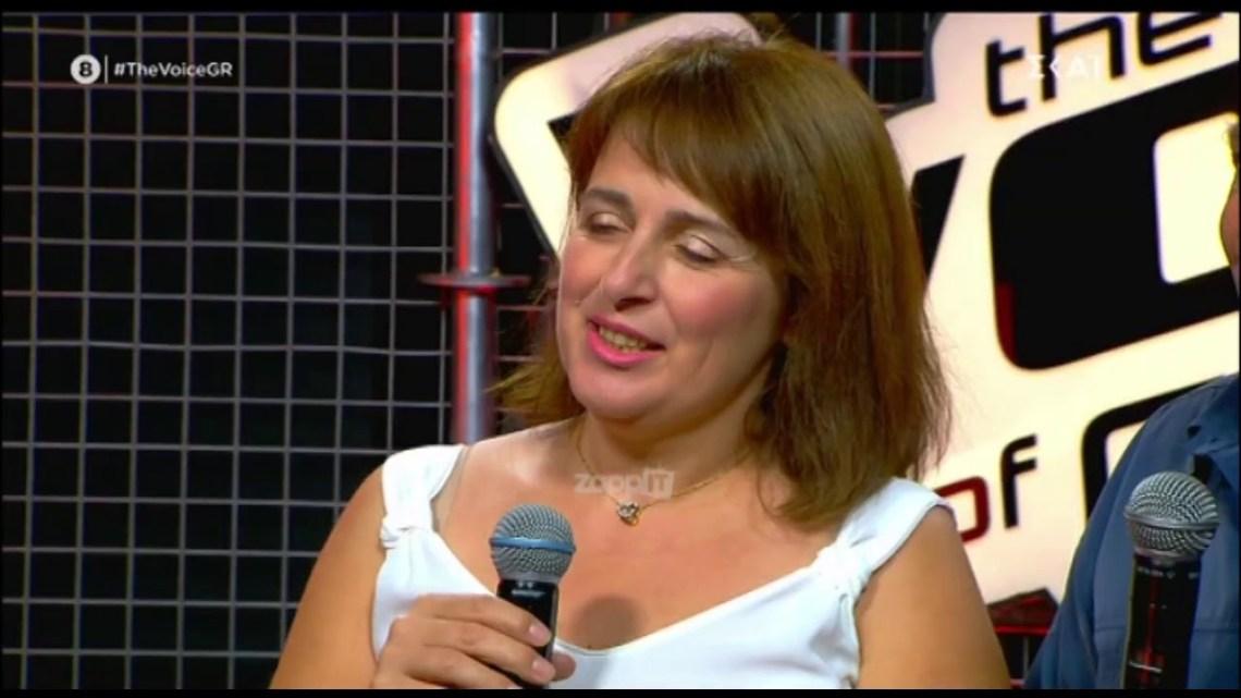 The Voice: Η Φωτεινή αποδείχθηκε τελικά ανιψιά του Πάνου Μουζουράκη