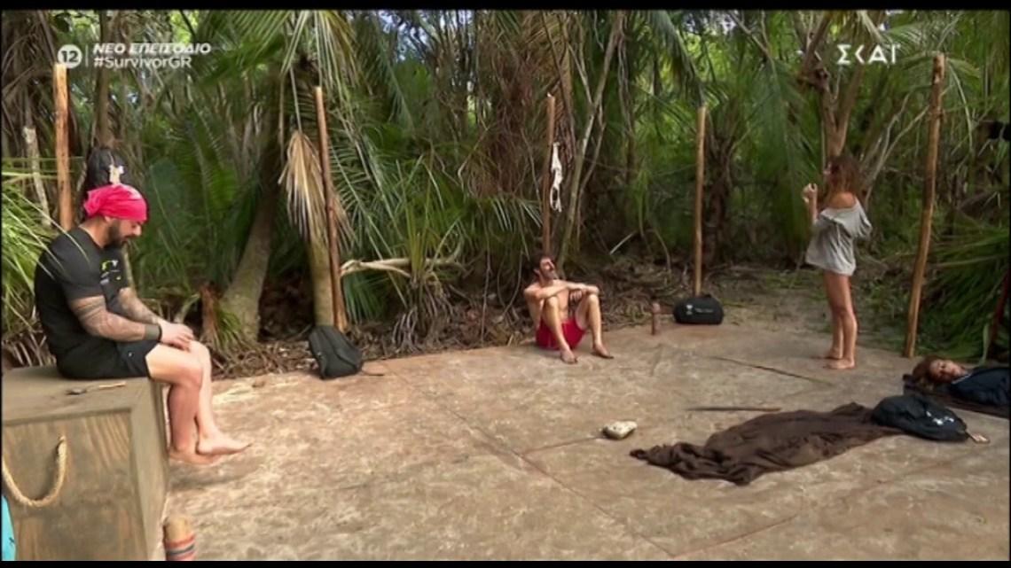 Survivor:  H Αγγελική Λάμπρη παραδίδει μαθήματα κακαρίσματος