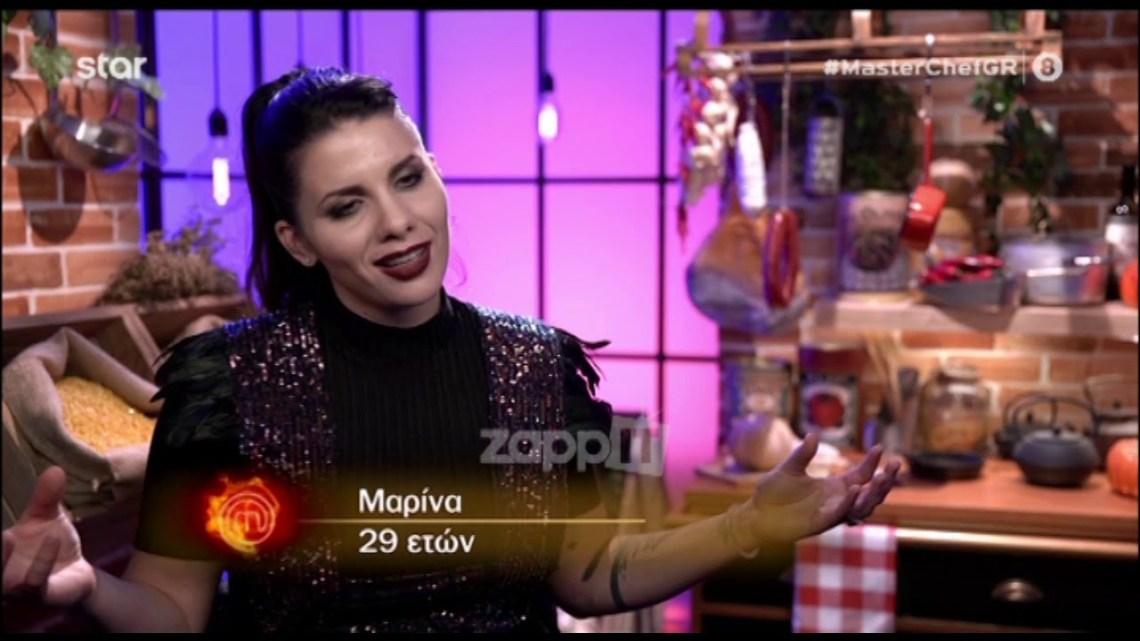 """Φωτιά οι ατάκες της Μαρίνας στο MasterChef – """"Τους έκανα π…α"""""""