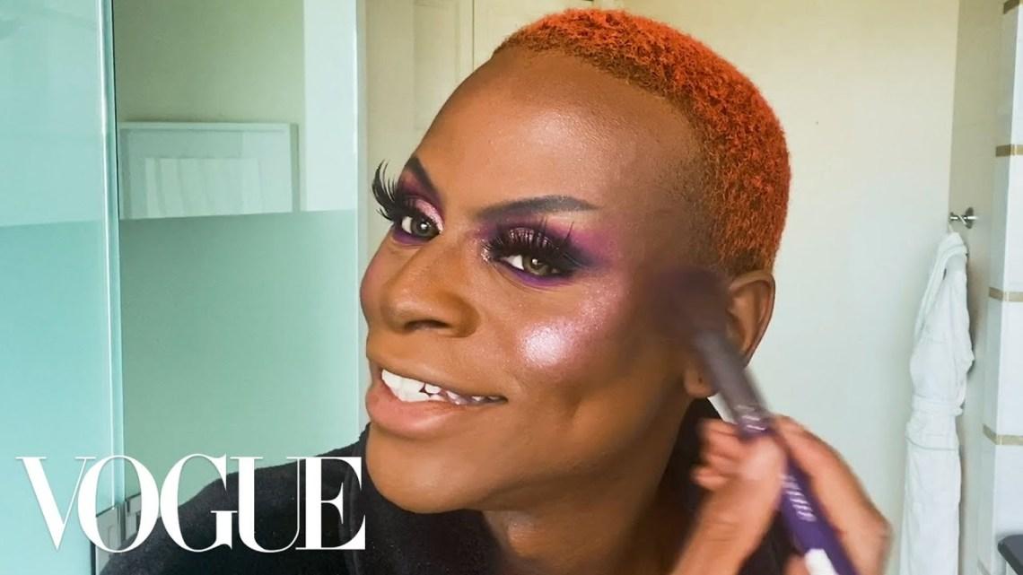 Ru Paul's Drag Race Star Symone's Guide to Regal, Runway-Ready Makeup | Beauty Secrets | Vogue