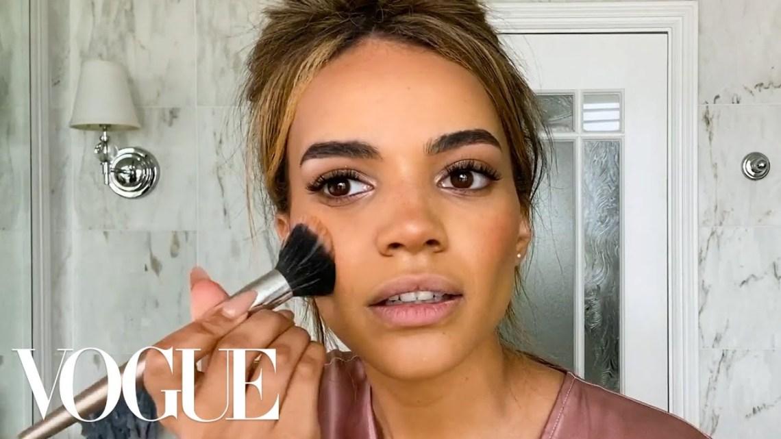 Leslie Grace's Guide to Low-Key Glam Makeup | Beauty Secrets | Vogue