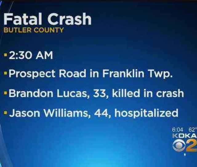 One Dead In Early Morning Crash In Butler County